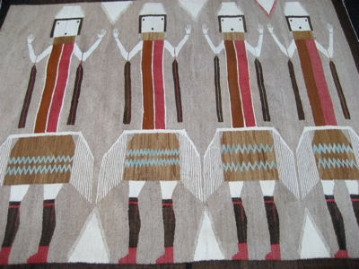 photo of Yei navajo Rug